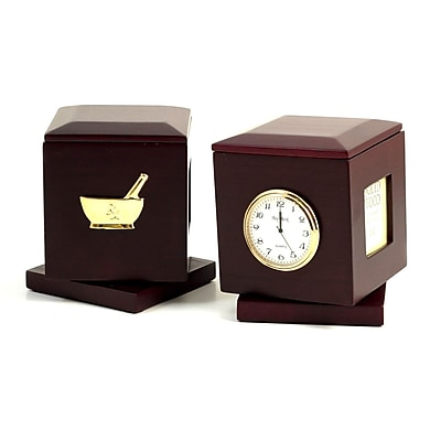 Bey-Berk Pharmacy Pen Box with Frames & Clock (R49P)