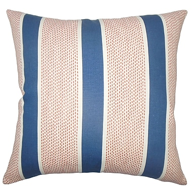 The Pillow Collection Bandele Striped Bedding Sham; Queen