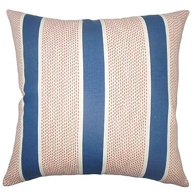 The Pillow Collection Bandele Striped Bedding Sham; Euro