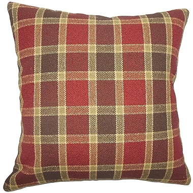 The Pillow Collection Barton Plaid Bedding Sham; Standard