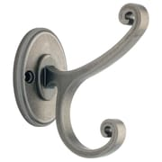Liberty Casual Scroll Design Coat and Hat Hook, Antique Iron (B42505Z-AI-C)