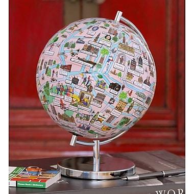 Waypoint Geographic Amsterdam Night Lights Globe