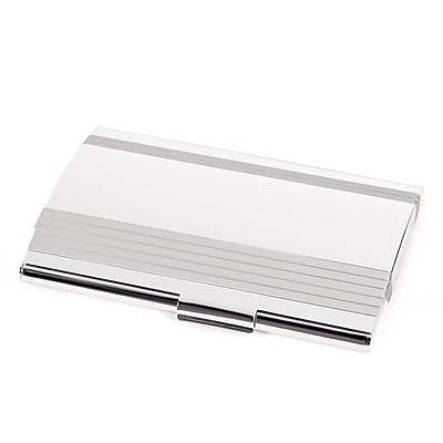 Bey-Berk Stainless Steel Business Card Case (D293S)