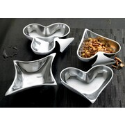 Kindwer 4 Piece Playing Card Suits Aluminum Dish Set