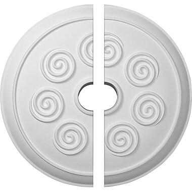 Ekena Millwork Spiral Ceiling Medallion