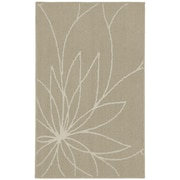 Garland Rug Grand Floral Tan/Ivory Area Rug; 2'6'' x 3'10''