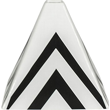 Sagebrook Home Pandora Pyramid Vase; 6.89'' H x 7.48'' W x 7.48'' D