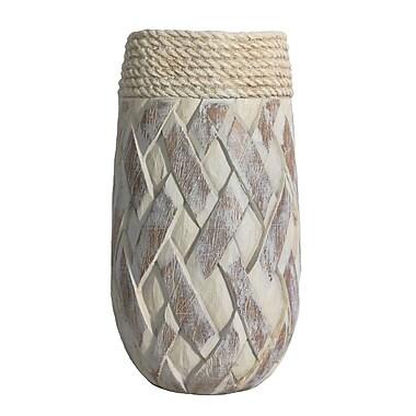 Sagebrook Home Bailey Table Vase; 13.98'' H x 7.48'' W x 7.48'' D