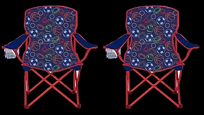 Linen Depot Direct Kids Camping Chair (Set of 2) WYF078279060714