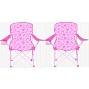 Linen Depot Direct Kids Camping Chair (Set of 2)
