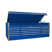 Extreme Tools Triple Bank  72''W 15-Drawer Top Chest; Blue