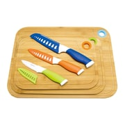 Culinary Edge 9 Piece Bamboo Cutting Board Set