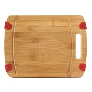 Culinary Edge Heavy Duty Extra Thick Bamboo Cutting Board; 12'' L x 9'' W