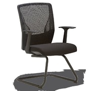 OCISitwell Score Mesh Guest Chair; Black