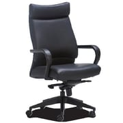 OCISitwell Profile High-Back Leather Executive Chair