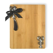 Boston International Lobster Cutting Board Anchor Cutting Board and Spreader Set