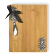 Boston International Pineapple Cutting Board and Spreader Set