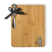 Boston International Seahorse Cutting Board and Spreader Set