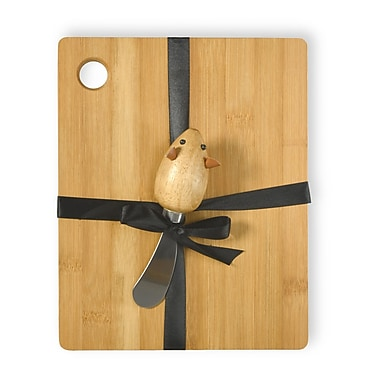 Boston International Mouse 2 Piece Cutting Board and Spreader Set