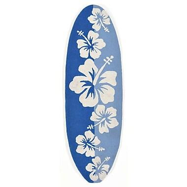 Liora Manne Frontporch Hand-Tufted Blue Indoor/Outdoor Area Rug
