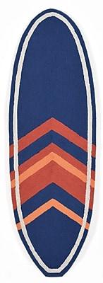 Liora Manne Frontporch Hand-Tufted Navy Indoor/Outdoor Area Rug