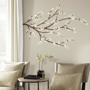 Room Mates White Blossom Branch Wall Decal