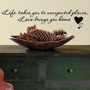 Room Mates Love Brings You Home Peel and Stick Wall Decal