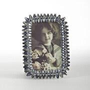 Saro Sapphire Jeweled Picture Frame