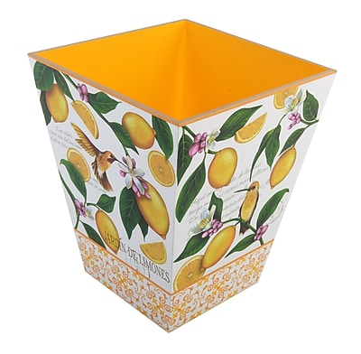 TSC Giftables Lemon Garden Waste Basket