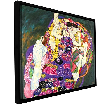 ArtWall 'Virgins' by Gustav Klimt Framed Painting Print on Wrapped Canvas; 36'' H x 48'' W