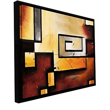 ArtWall 'Abstract Modern' by Jim Morana Framed Painting Print on Wrapped Canvas; 18'' H x 24'' W