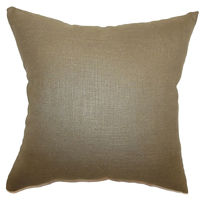 The Pillow Collection Cameo Solid Bedding Sham; Queen