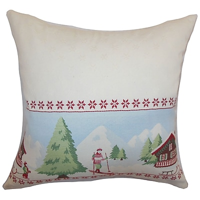 The Pillow Collection Florina Holiday Bedding Sham; Standard