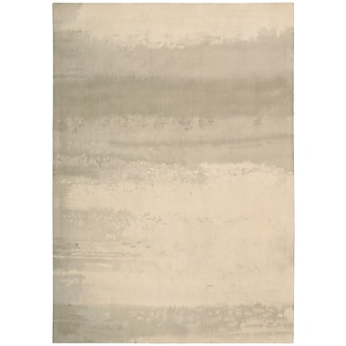 Calvin Klein Rugs Luster Wash Dune Ivory Area Rug; 5'6'' x 8'