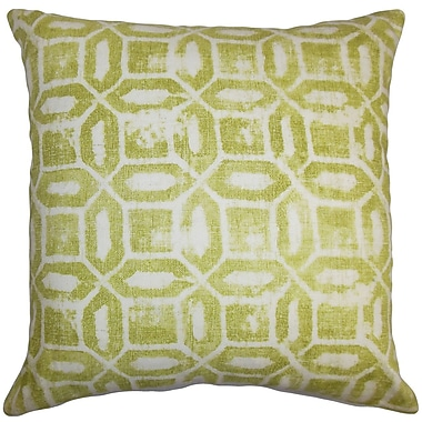 The Pillow Collection Darina Geometric Bedding Sham; Euro