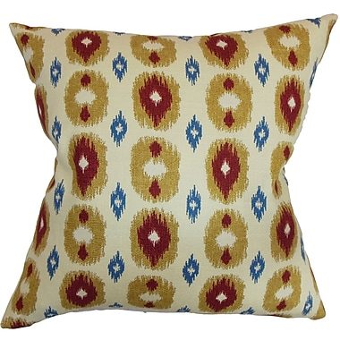 The Pillow Collection Jesolo Ikat Bedding Sham; Queen