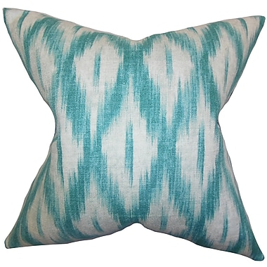 The Pillow Collection Yitzhak Ikat Bedding Sham; Euro