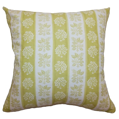 The Pillow Collection Rosalinde Floral Bedding Sham; Euro