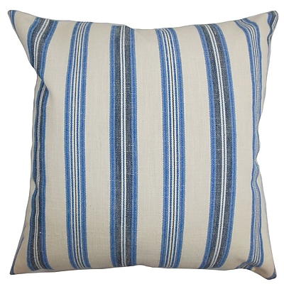 The Pillow Collection Omer Stripe Bedding Sham; King