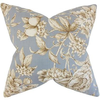 The Pillow Collection Clare Floral Bedding Sham; Queen