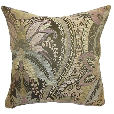 The Pillow Collection Aarhus Floral Bedding Sham; Euro