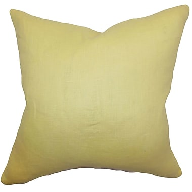The Pillow Collection Idalya Solid Bedding Sham; Euro