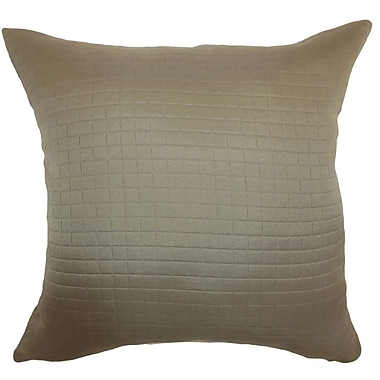 The Pillow Collection Maertisa Quilted Bedding Sham; Euro