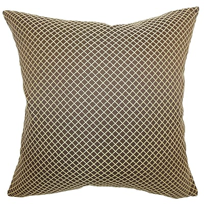 The Pillow Collection Zenobe Geometric Bedding Sham; Euro