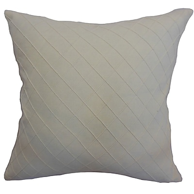 The Pillow Collection Harsent Quilted Bedding Sham; Euro