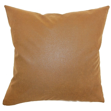 The Pillow Collection Neale Solid Bedding Sham; Euro