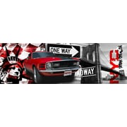TAF DECOR NYC Muscle Graphic Art on Canvas