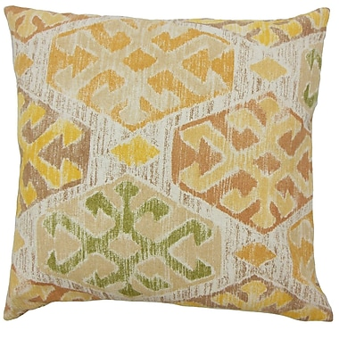The Pillow Collection Galen Ikat Bedding Sham; Euro
