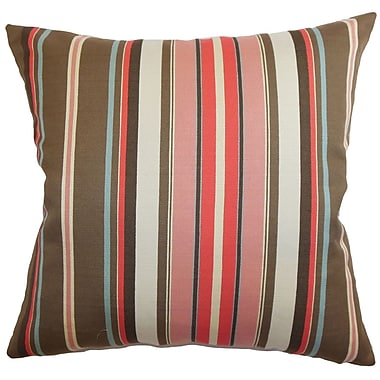 The Pillow Collection Janeah Stripes Bedding Sham; Queen