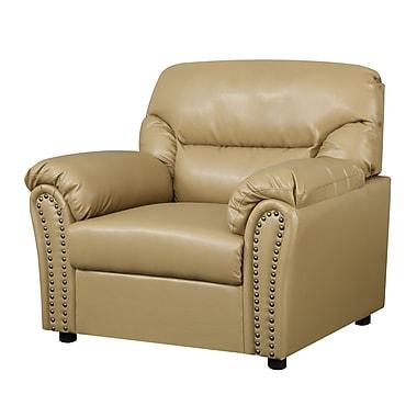 Glory Furniture Tanner Arm Chair; Tan